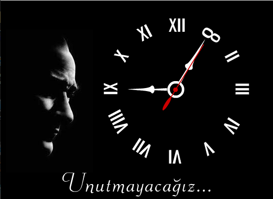 Atatürk Anma Saati Animasyonu